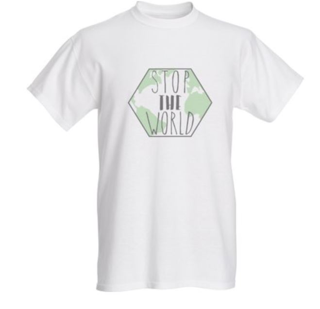 Stop The World Basic Tee