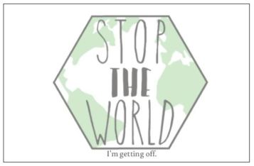 Stop The World - Post Cards
